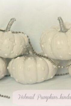 hobnail pumpkins, crafts