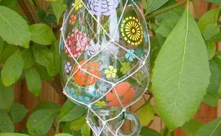 a butterfly feeder jar, crafts, Fill with sugar water and hang upside down