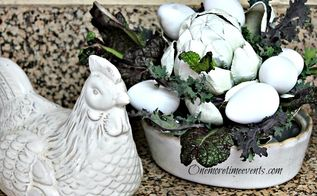 fresh from the garden spring lettuce kitchen centerpiece, flowers, gardening, seasonal holiday d cor