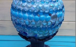 marble gazing ball, crafts