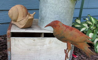 horticulture and garden junk, flowers, gardening, outdoor living, repurposing upcycling, I like lots of garden decor that s rusty