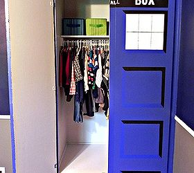 Beautiful Diy Tardis Bedroom Closet, Bedroom Ideas, Doors, Painting, Bigger On The  Inside