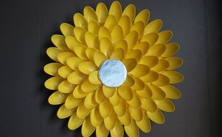 diy plastic spoon flower, crafts