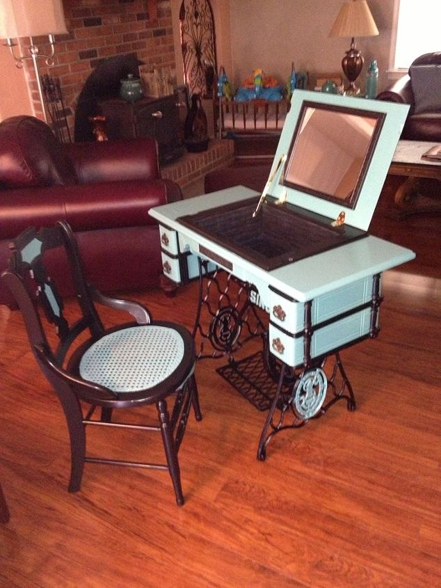 Repurposed Antique Sewing Machine Hometalk