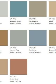 color inspiration top colors of 2013, painting, One of the various new color pallets hosting the new 2013 colors Love them all