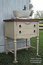 sewing cabinet repurposed, painted furniture, repurposing upcycling