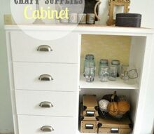 my 5 craft cabinet transformation, cleaning tips