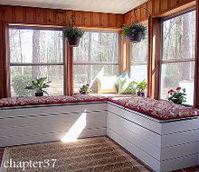 a sunny sunroom makeover, decks, home decor, living room ideas, outdoor living