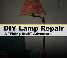 repairing a floor lamp, home maintenance repairs, how to, lighting