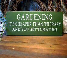 great gardening sign, gardening, This Etsy shop sells this sign