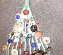 miniature christmas tree, crafts, repurposing upcycling, Miniature Christmas Tree