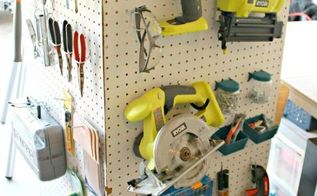 make your own portable storage caddy, cleaning tips, craft rooms, diy, garage doors, garages, painted furniture, storage ideas, tools, Tools and accessories