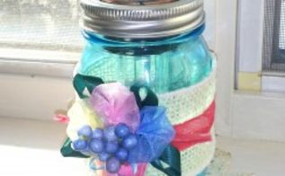 mason jar solar light tutorial, crafts, mason jars, repurposing upcycling, Mason Jar Solar Light Tutorial at