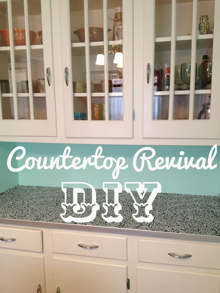 Diy Countertop Revival Countertops Diy Kitchen Design This Project Is Very Detail