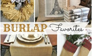 readers favorites fun amp easy projects using burlap, crafts, home decor, wreaths, Fun easy and inexpensive projects using burlap gathered from my readers favorites