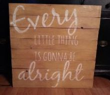 pallet signs, diy, home decor, painted furniture, pallet, repurposing upcycling, woodworking projects, Custom piece for a friend