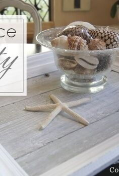reclaimed picket fence tray, crafts, pallet