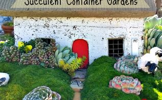 succulent container gardens, container gardening, flowers, gardening, succulents
