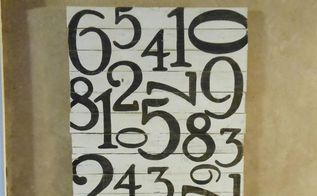 pallet signs, crafts, pallet, repurposing upcycling, Number Art