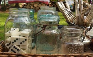 how to host a successful yard sale, Stage your items for sale as you would stage them in your hom