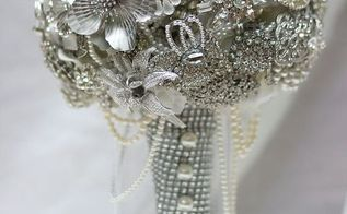 brooch bouquet reveal, crafts