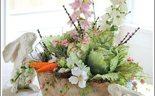easter centerpiece, easter decorations, seasonal holiday d cor, To me the picking an attractive floral container sets the tone of the whole arrangement