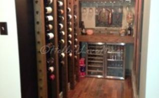 reclaimed wine nook, diy, flooring, hardwood floors, home improvement, repurposing upcycling, shelving ideas, storage ideas, tile flooring, woodworking projects, Finished room