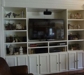 Kitchen Cabinets Entertainment Center custom built entertainment center. | hometalk