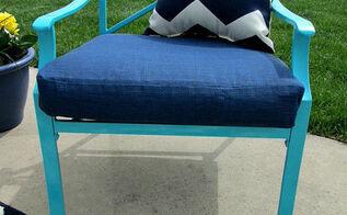 diy patio chair update, painting, patio