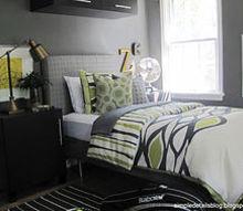 teen boy s bedroom, bedroom ideas, home decor, painted furniture