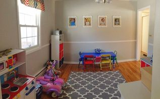 playroom makeover four kids one room, home decor, storage ideas