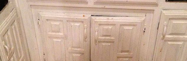 q easy fix for missing cabinet doors, doors, home decor, kitchen cabinets, kitchen design