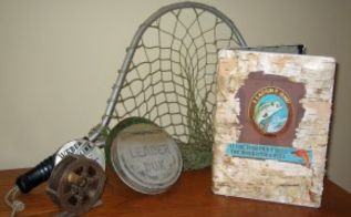 recycle a dvd case into a fly box for fishing, repurposing upcycling, I decorated the outside of the case with birch bark and decorative paper