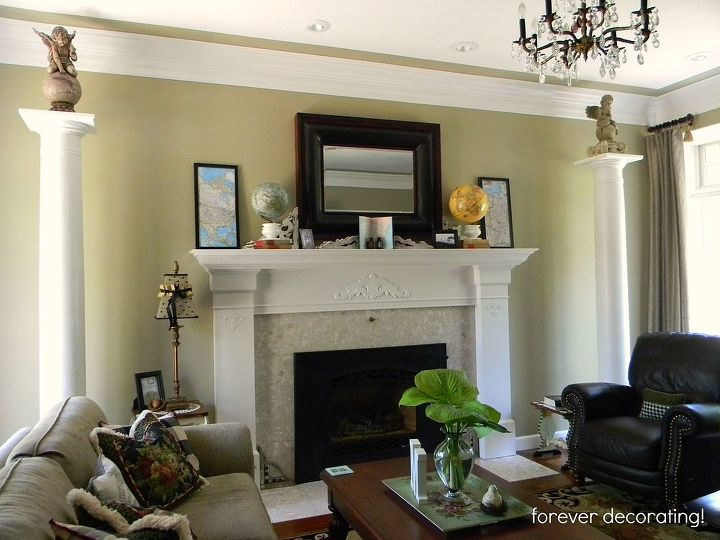 great find old masonic columns, fireplaces mantels, home decor ...