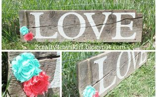 old barn wood signs, crafts