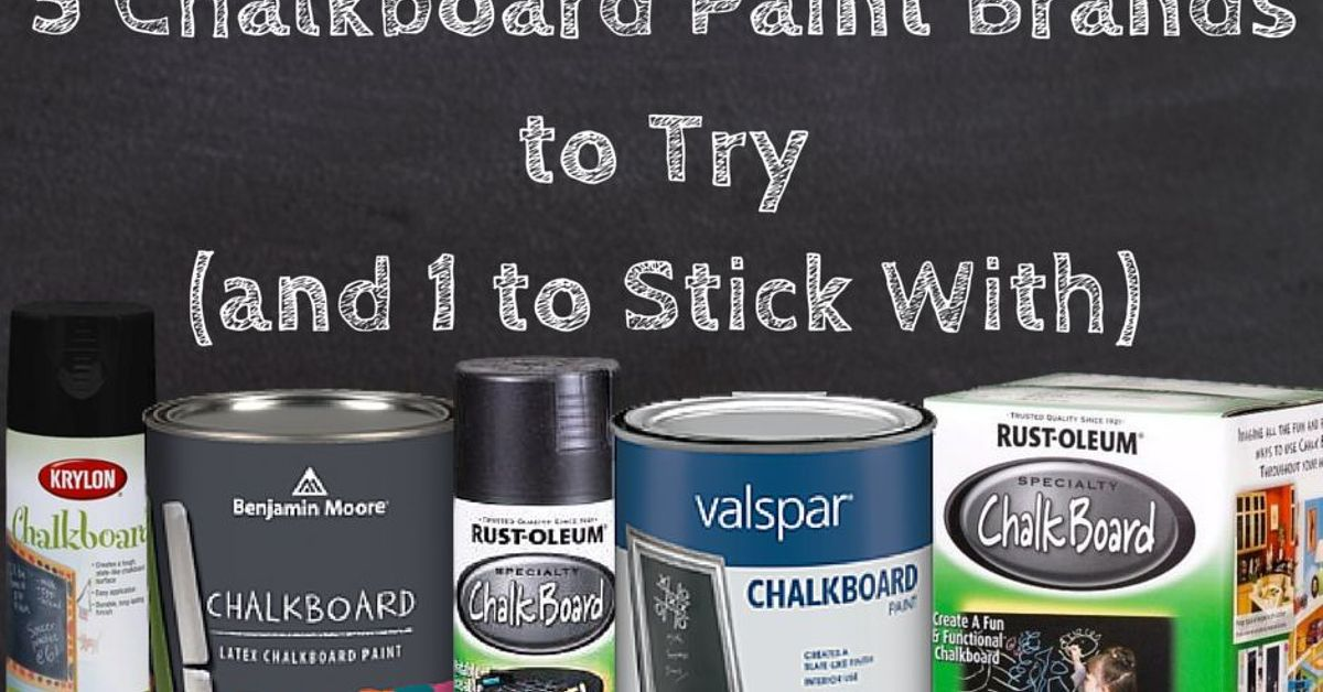 Hometalk Review: What Is The Best Chalkboard Paint?   Hometalk
