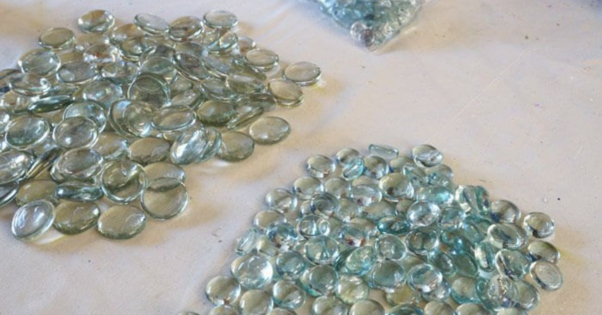 dollar store glass beads become a beautiful backsplash kitchen backsplash kitchen design - How To Become A Kitchen Designer
