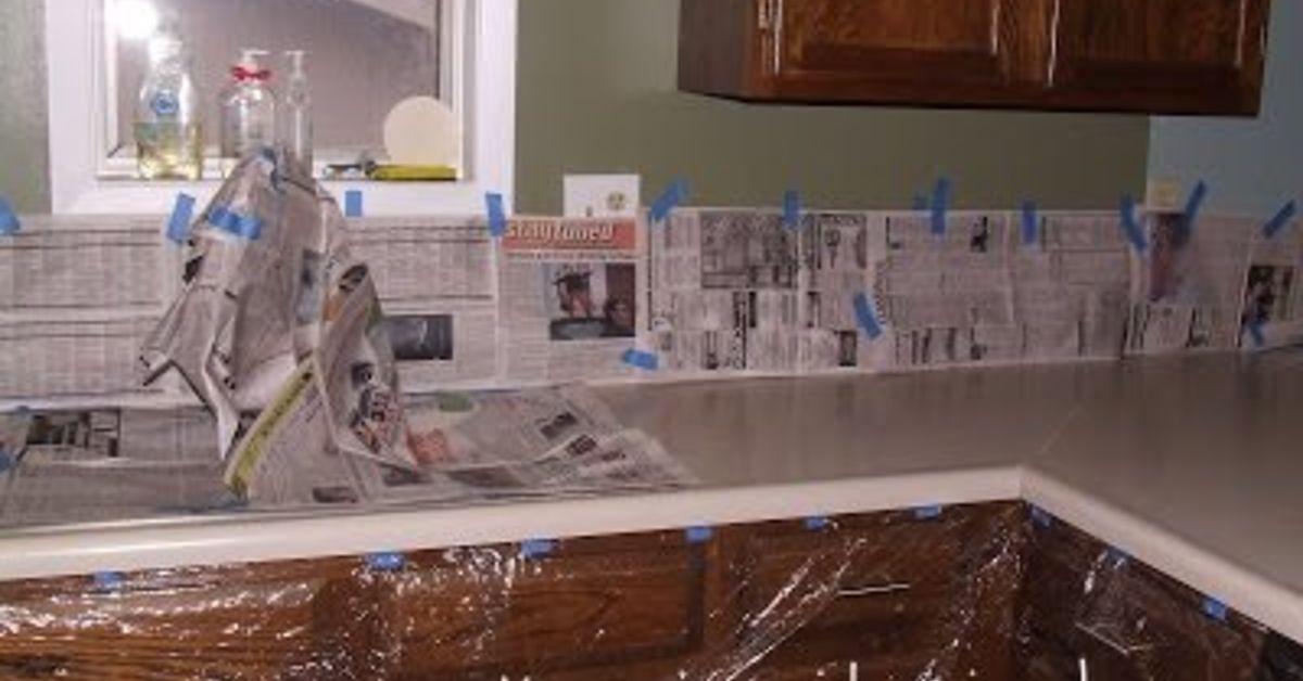 Diy Painted Counter Tops Hometalk