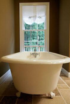 master bath transformed, bathroom ideas, home decor, Stylish old world charm