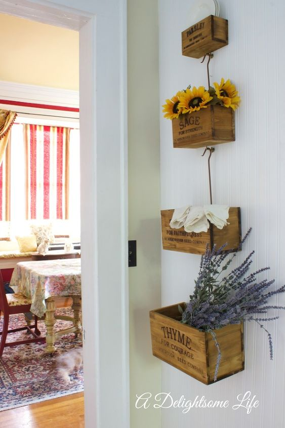 Decorating With Herb Nesting Crates Hometalk
