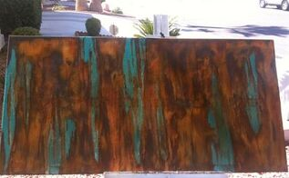abstract painting anyone can do, crafts, painting, Finished