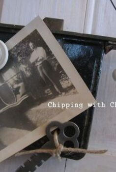 photo fun thinking outside the frame, repurposing upcycling, Mortise lock boxes http chippingwithcharm blogspot com 2013 02 lock box photo holders html
