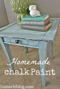 diy chalk paint vs annie sloan chalk paint, chalk paint, painting, Homemade chalk paint