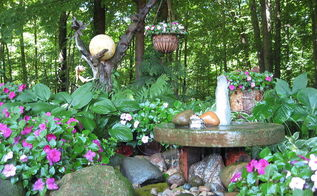 millstone fountain, gardening, ponds water features, My millstone fountain