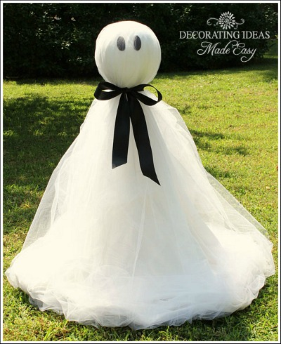 how to make a ghost crafts halloween decorations seasonal holiday decor i