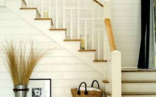 5 ways to get this look farmhouse style staircase, home decor, stairs