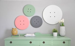easy button art for craft room, craft rooms, diy, home decor
