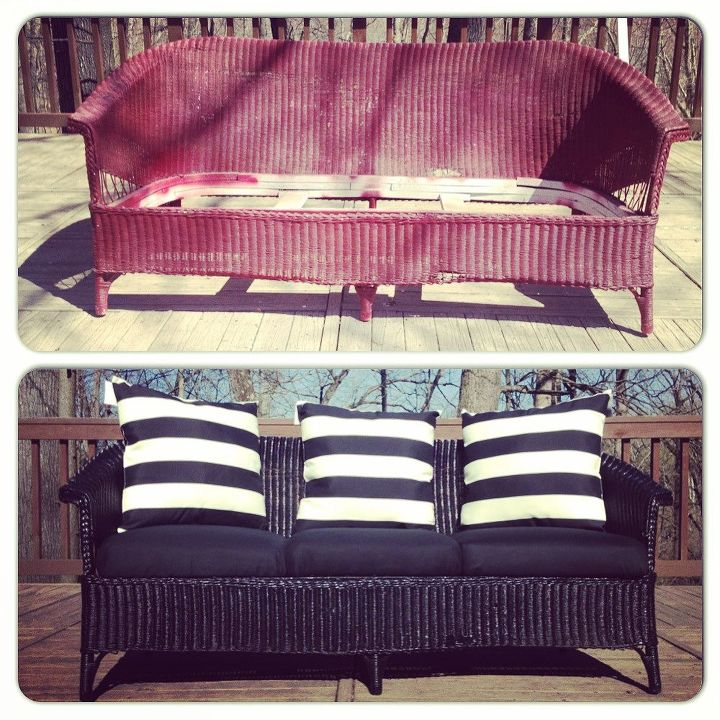 free craigslist find before after reveal, outdoor furniture, painted  furniture - FREE Craigslist Find - Before & After Reveal Hometalk