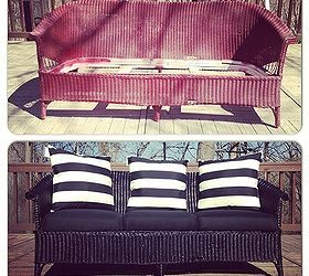 Free Craigslist Find Before After Reveal, Outdoor Furniture, Painted  Furniture