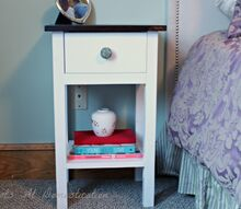 handbuilt nightstand with drawer, diy, how to, painted furniture, woodworking projects, Handbuilt Nightstand with Drawer